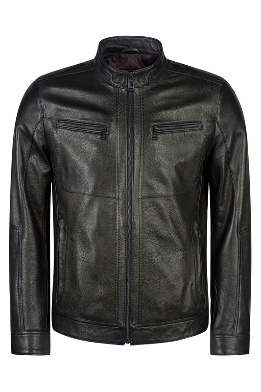 leather jacket MIO CALVINO leather jacket колье taya 8 марта женщинам page 6