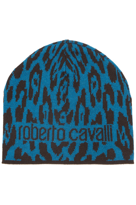hat Roberto Cavalli hat pleated plain turban hat