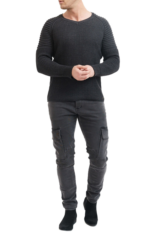 Фото - Pullover TRUEPRODIGY Pullover ripped high slit pullover sweater