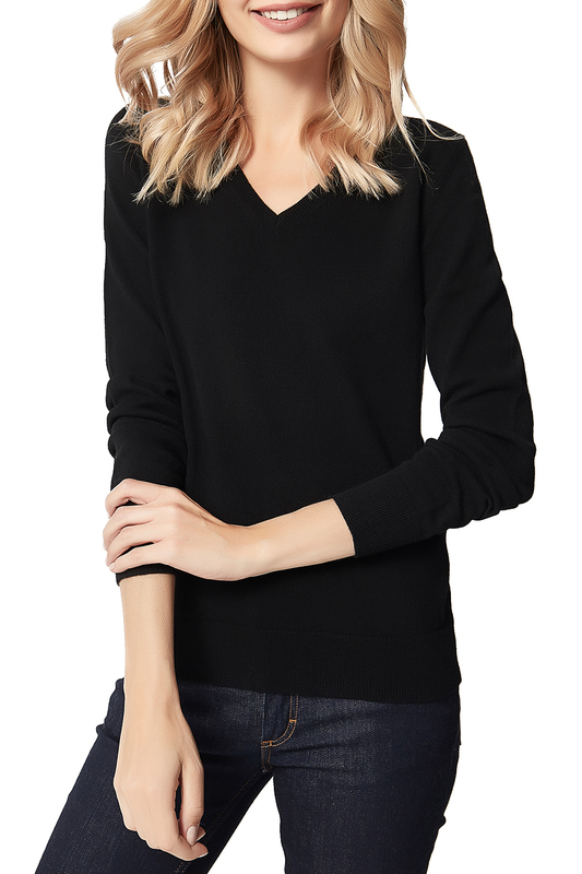 pullover MANODE pullover color block fuzzy sleeve pullover