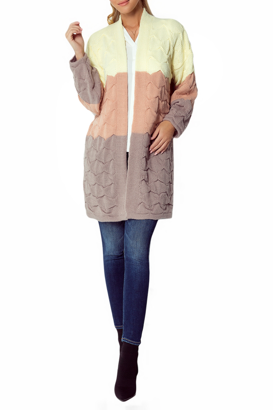 Купить Cardigan FIMFI, Yellow, orange, beige
