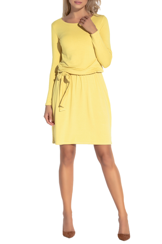 Купить Dress FOBYA, YELLOW
