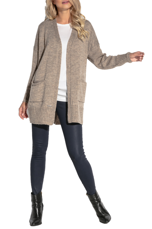 Купить Cardigan FOBYA, Brown