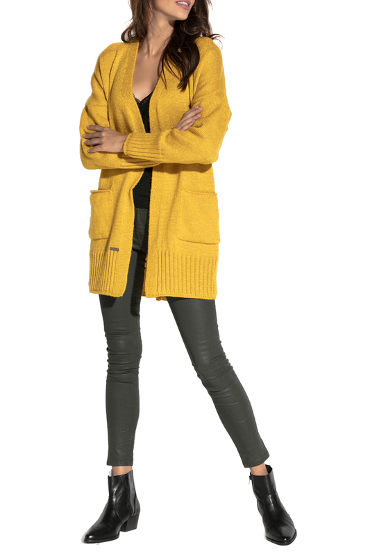 Купить Cardigan FOBYA, YELLOW