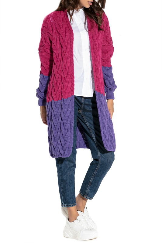 Купить Cardigan FOBYA, Pink, purple