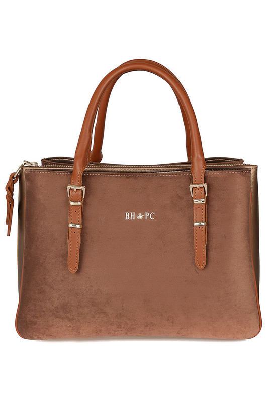 Фото - Bag Beverly Hills Polo Club Bag 2017 luxury brand women handbag oil wax leather vintage casual tote large capacity shoulder bag big ladies messenger bag bolsa