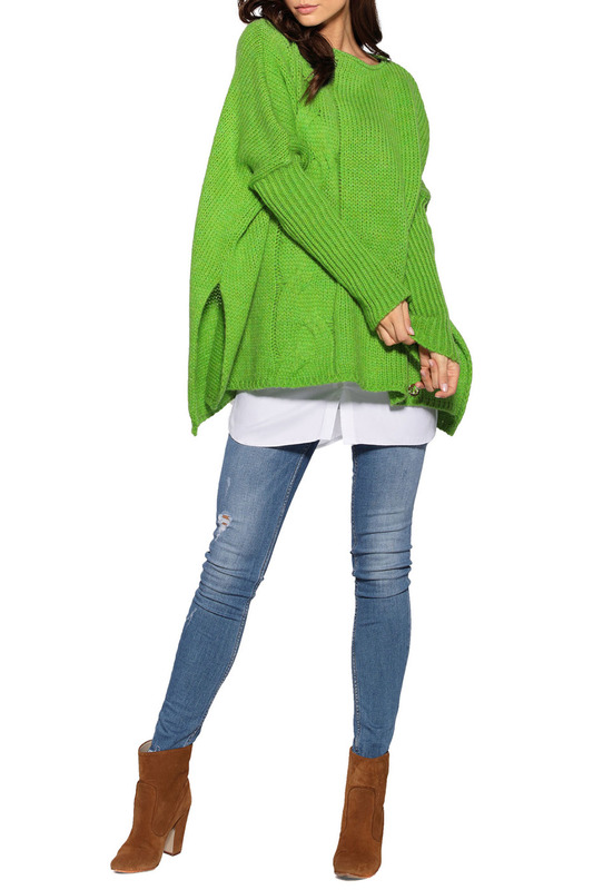 Купить SWEATER LEMONIADE цвет green