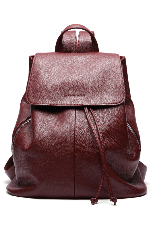 backpack WOODLAND LEATHER backpack aetoo literary retro genuine leather backpack female large capacity soft leather hand stitched first layer cowhide backpack