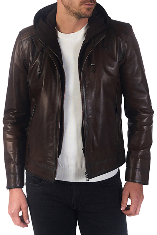 leather jacket Paul Parker leather jacket цена