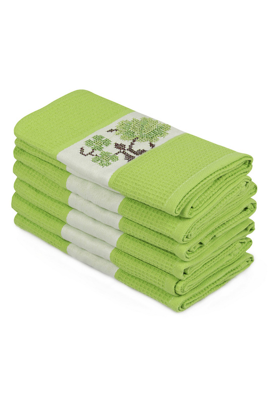 Wash Towel Set (6 Pieces) Cotton box Wash Towel Set (6 Pieces) халат rosme