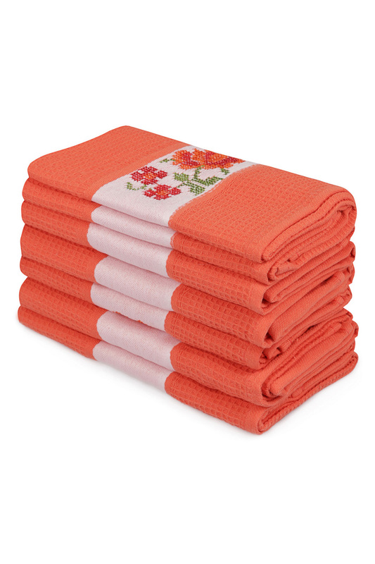 Wash Towel Set (6 Pieces) Cotton box Wash Towel Set (6 Pieces) серьги pieces
