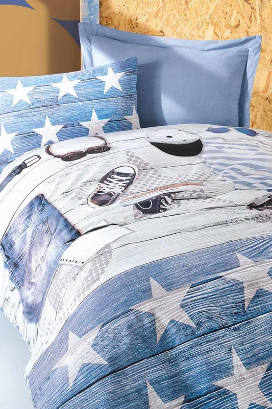 Ranforce Young Quilt Cover Set Cotton box Ranforce Young Quilt Cover Set банка для чая 0 5 л итальянские лимоны lcs page 10