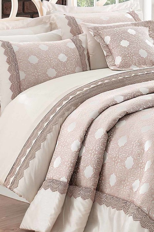Double Quilted Bedspread Set Cotton box Double Quilted Bedspread Set брюки pepe jeans брюки