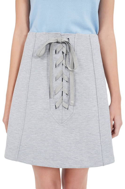 skirt RODIER skirt solid pleated skirt
