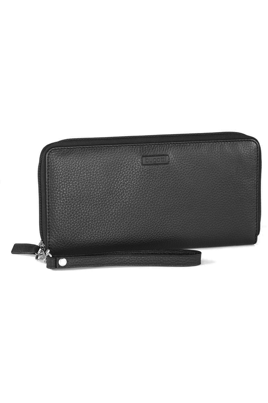 card holder Bugatti card holder fashion solid men s wallet long clutch card holder bifold canvas zipper phone purse male large money bag carteira masculina