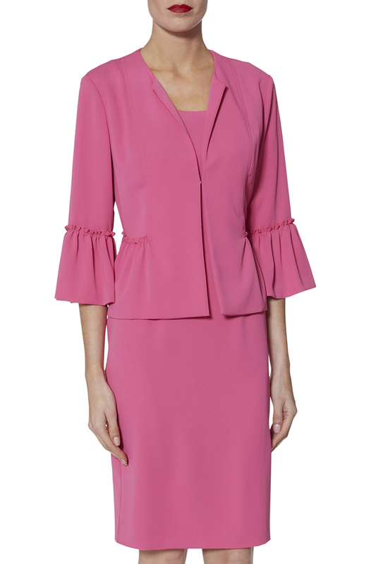 dress and blazer Gina Bacconi dress and blazer
