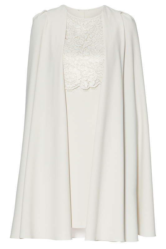 dress and cape Gina Bacconi dress and cape скальп петуха wapsi ewing economy dry fly cape