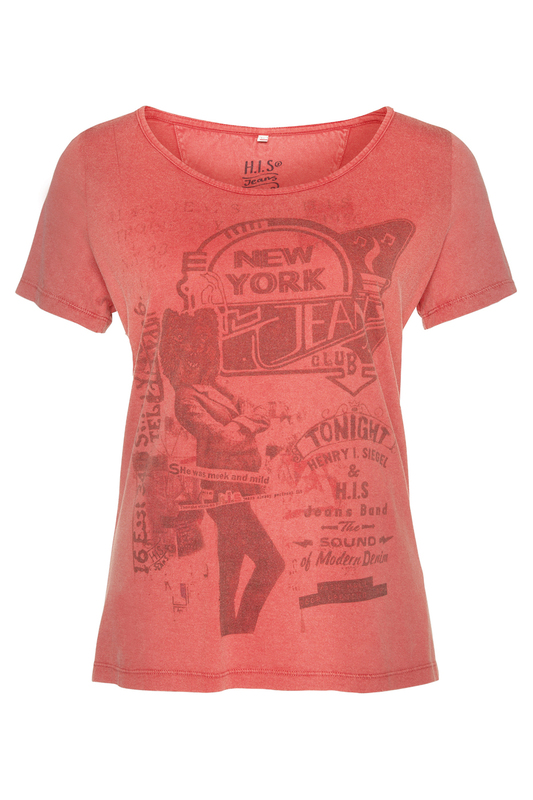 t-shirt H.I.S Jeans t-shirt аква бальзам 50 мл the skin house аква бальзам 50 мл