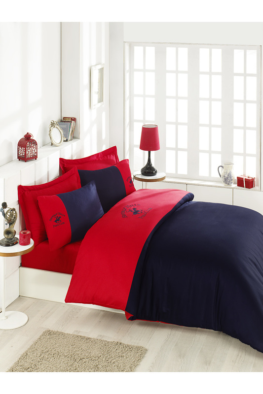 Double Quilt Cover Set Beverly Hills Polo Club Double Quilt Cover Set