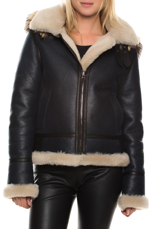 sheepskin coat John&Yoko sheepskin coat футболка liberavita