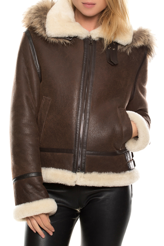 sheepskin coat John & Yoko sheepskin coat блузка frank lyman design блузы с длинным рукавом page 15