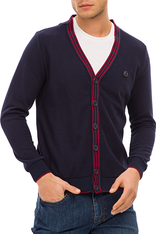 cardigan Galvanni cardigan zip up jaquard sweater cardigan