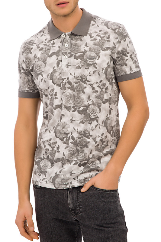 polo t-shirt Galvanni polo t-shirt open back front tie t shirt