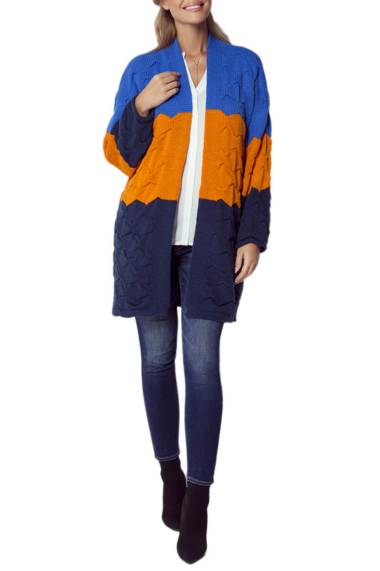Купить Cardigan FIMFI, Blue, yellow