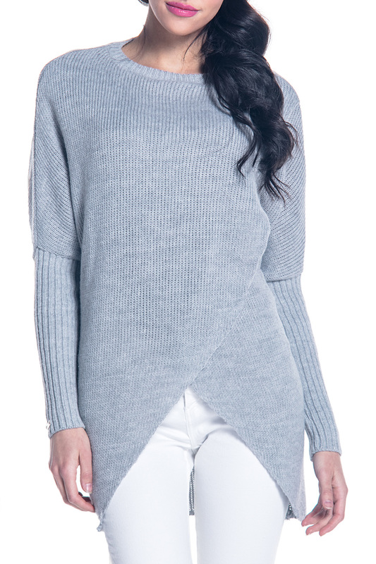 Купить Sweater FOBYA, Grey