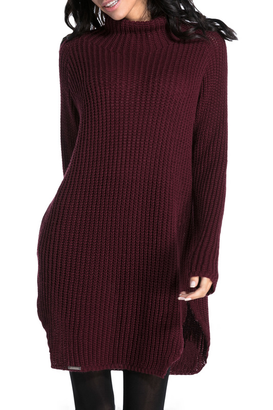 Купить Sweater FOBYA, Burgundy