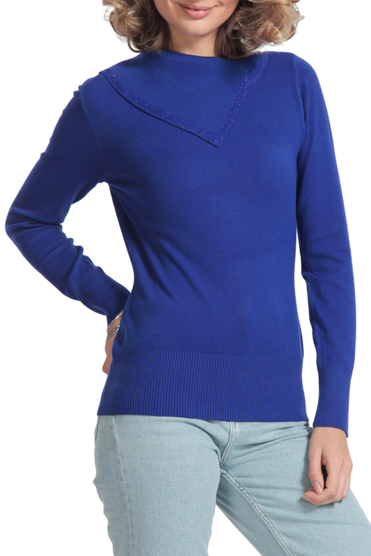 Фото - pullover Passioni pullover ripped high slit pullover sweater