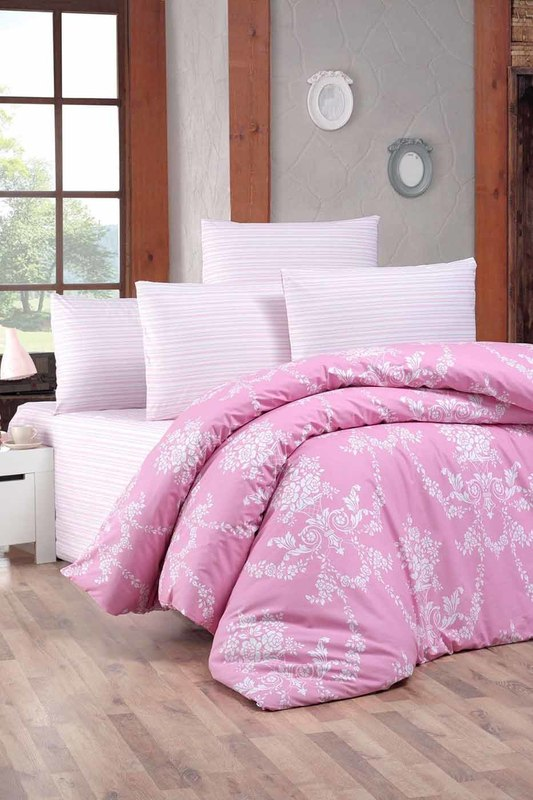 цена на Single Quilt Cover Set Victoria Single Quilt Cover Set