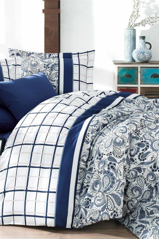 цена на Double Quilt Cover Set NAZENIN HOME Double Quilt Cover Set