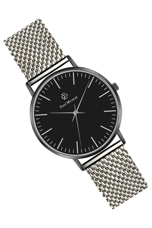 watch Paul McNeal watch top leather watch box black 10 grids watch storage boxes fashion brand watch display box watch gift cases b038
