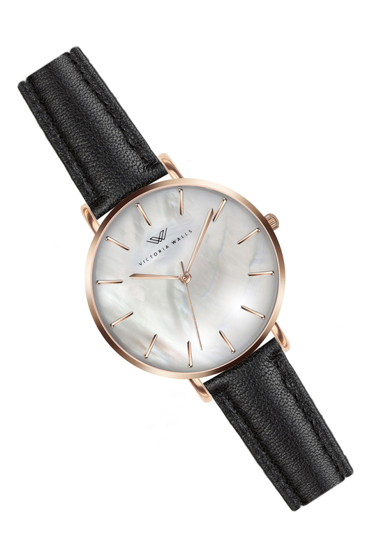 Фото - watch VICTORIA WALLS цвет black, rose gold