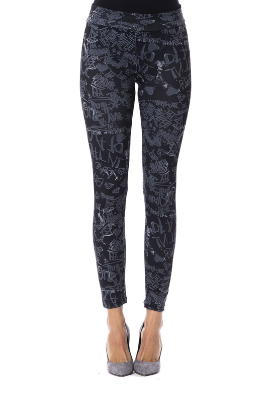 leggings Gaudi leggings contrast panel leggings
