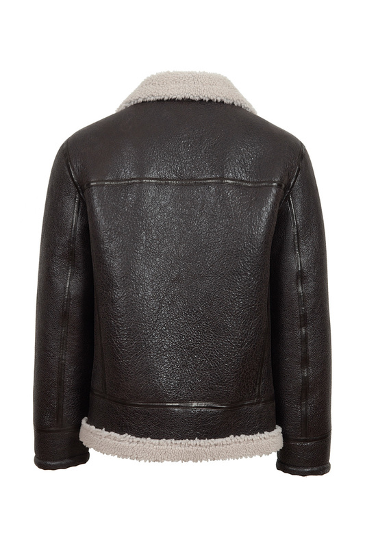 sheepskin coat JACK WILLIAMS sheepskin coat