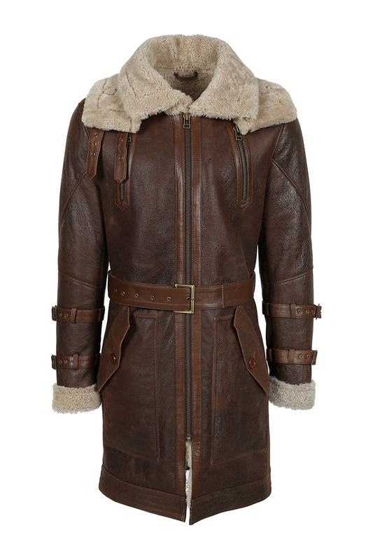 sheepskin coat JACK WILLIAMS