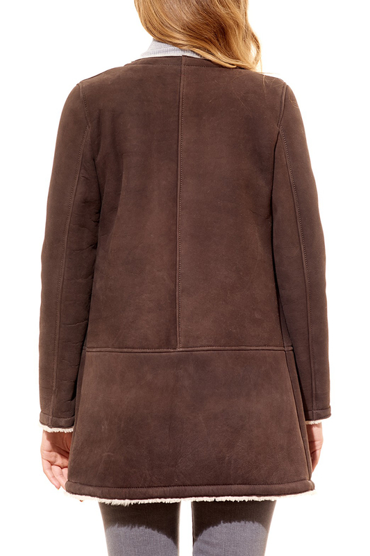 sheepskin coat AD MILANO sheepskin coat