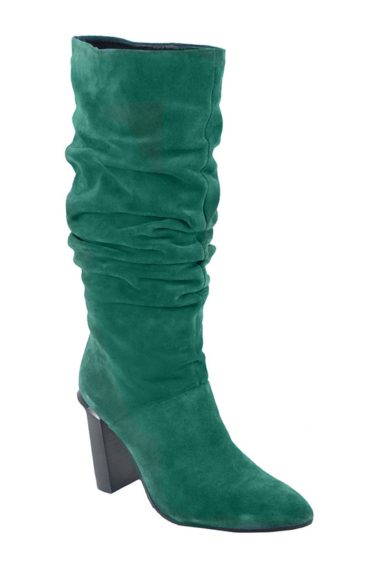 high boots BRONX high boots side zipper pu thigh high boots