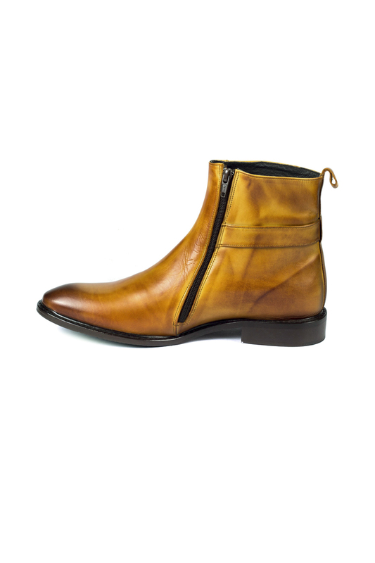 boots ORTIZ REED, Light brown