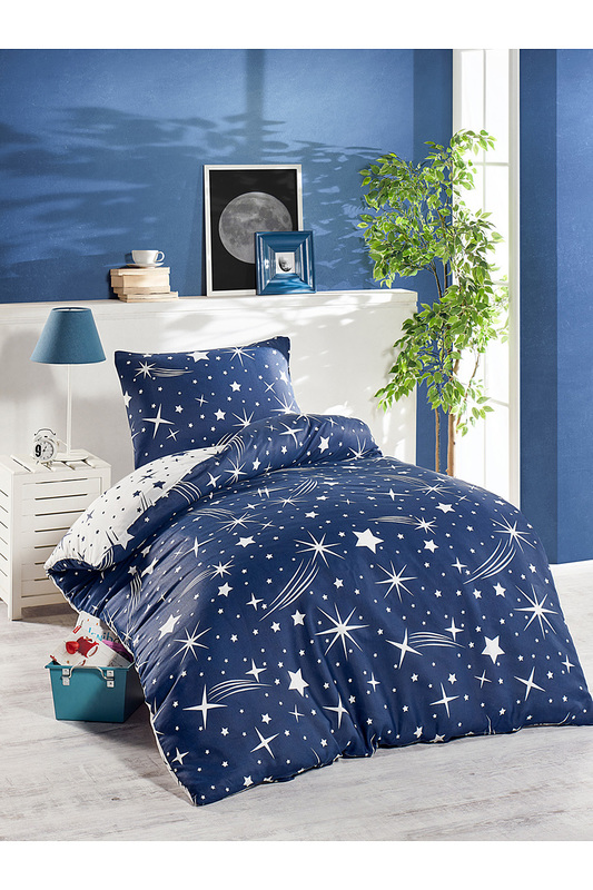 Single Duvet Cover Set ENLORA HOME Single Duvet Cover Set