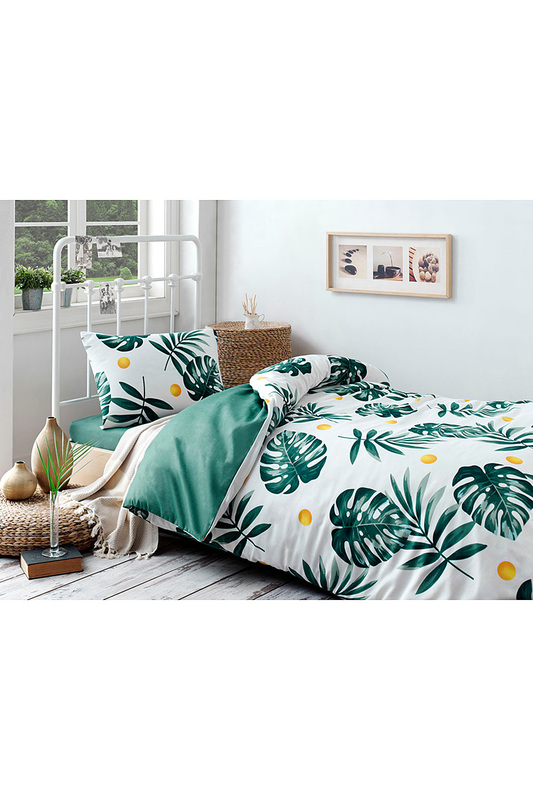 Single Quilt Cover Set, 1,5 sp ENLORA HOME Single Quilt Cover Set, 1,5 sp