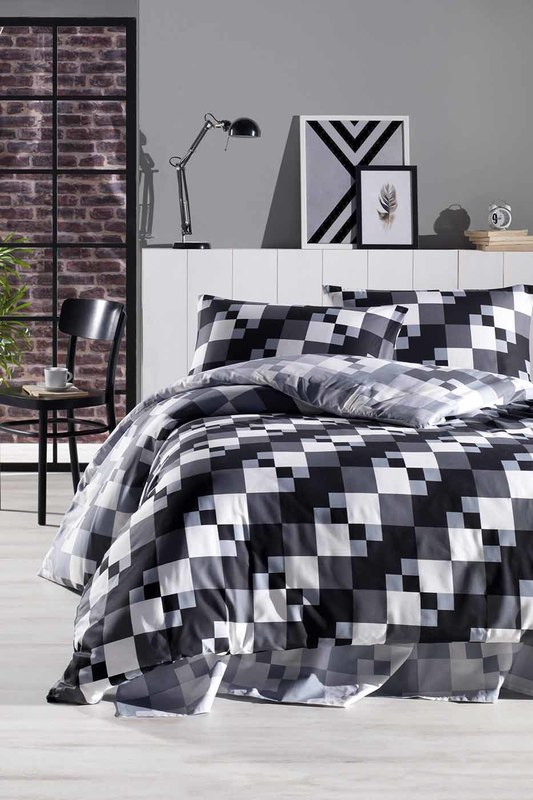 Double Quilt Cover Set, euro ENLORA HOME Double Quilt Cover Set, euro ml5100fb euro