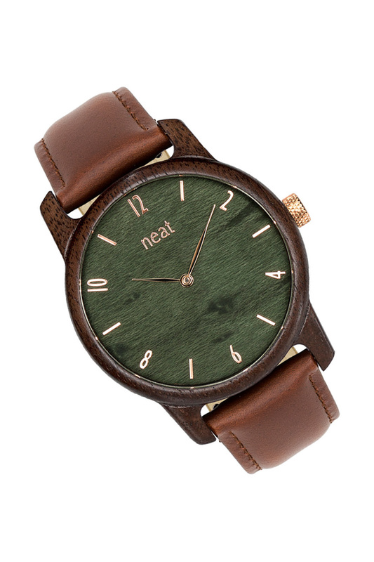 Фото - watch NEAT цвет dark brown, green