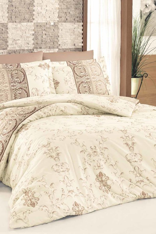 Satin Double Quilt Cover Set NAZENIN HOME Satin Double Quilt Cover Set satin furniture бюро