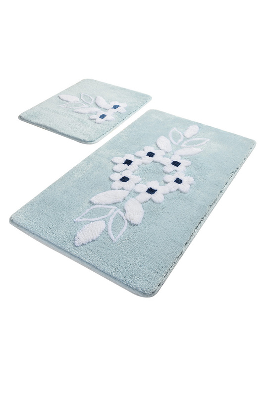 bathmat set (2 pieces) Chilai Home bathmat set (2 pieces) шарф pieces pieces pi752gwccoj3