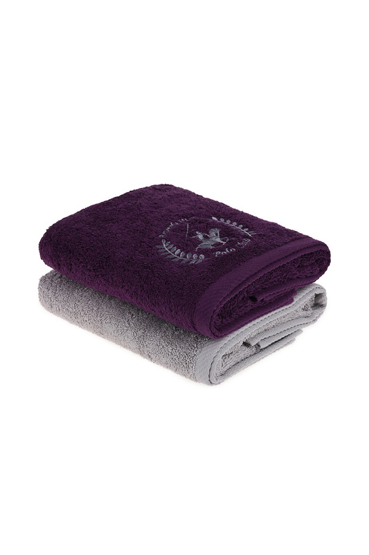 Hand Towel Set, 2 Pieces Beverly Hills Polo Club