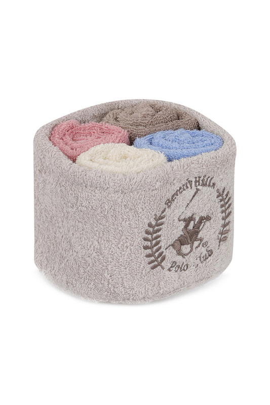 Towel Set, 4 Pieces Beverly Hills Polo Club
