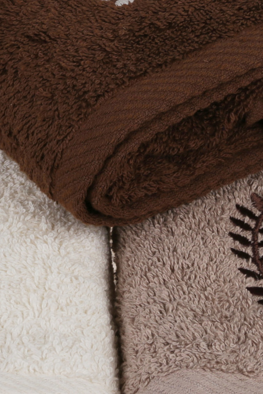 Hand Towel Set, 3 Pieces Beverly Hills Polo Club Hand Towel Set, 3 Pieces